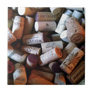Corks a plenty ceramic tile