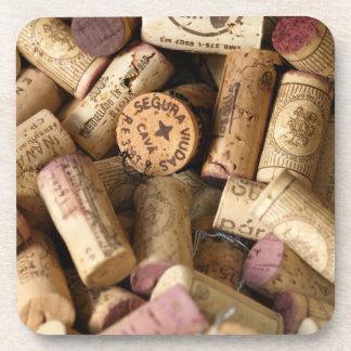 corks! beverage coaster