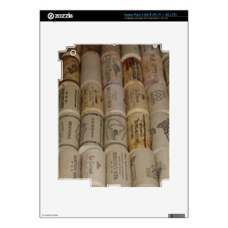 Corks Decal For iPad 3