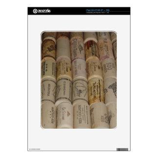 Corks Decals For iPad