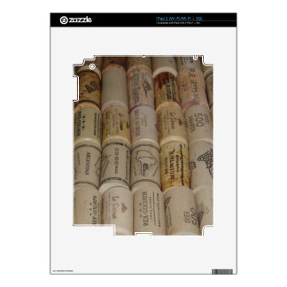 Corks Decals For The iPad 2