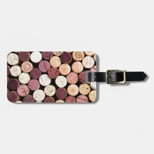 Corks on End Luggage Tag