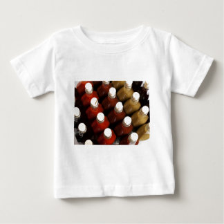 Corks on hot sauces baby T-Shirt