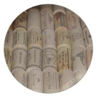 Corks Plate