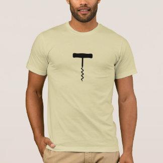 Corkscrew Black T-Shirt