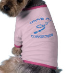 Corkscrew Frisbee Dog Tee