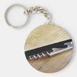 Corkscrew Keychain