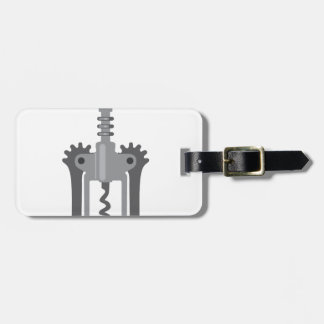 CorkScrew Tag For Bags
