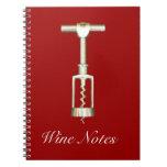 Corkscrew Notebook