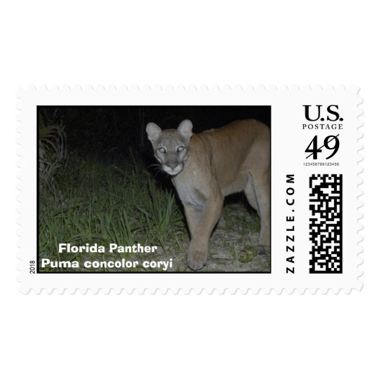 Corkscrew Puma Postage