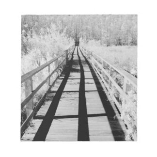Corkscrew Swamp Sanctuary boardwalk, Florida, Notepad