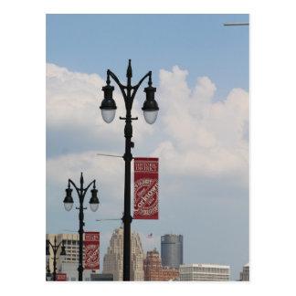 Corktown, Detroit, Michigan postcard