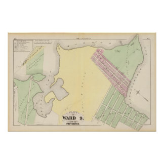 Corliss Cove Small Pox Hospital and Fields Point Poster