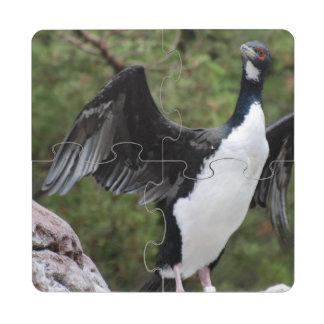 cormorant-6.jpg puzzle coaster