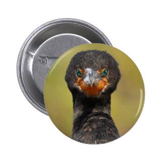 Cormorant Attitude 2 Inch Round Button