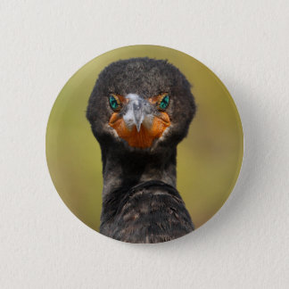 Cormorant Attitude Pinback Button