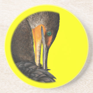 cormorant coaster