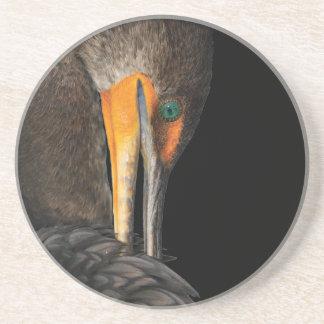cormorant beverage coasters
