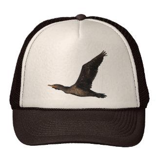 Cormorant in Flight 2 Hat