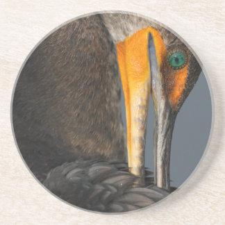 cormorant twist drink coaster