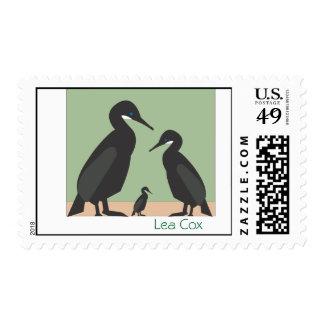 Cormorants Postage