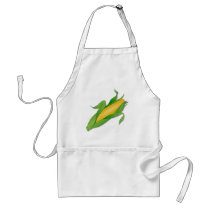 Corn Adult Apron