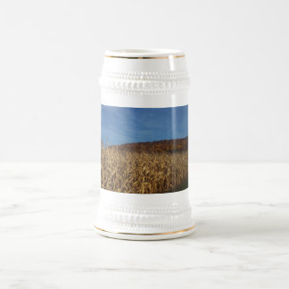 Corn and Blue Sky moon Beer Stein