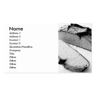 Corn bread Double-Sided standard business cards (Pack of 100)