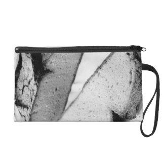 Corn bread wristlet purse