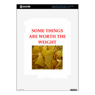 CORN CHIPS DECAL FOR iPad 3
