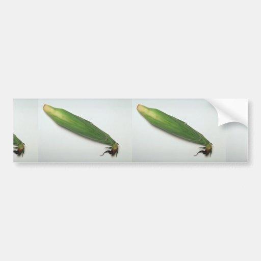 Corn cob bumper sticker