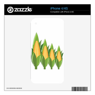 Corn Cob Decal For iPhone 4