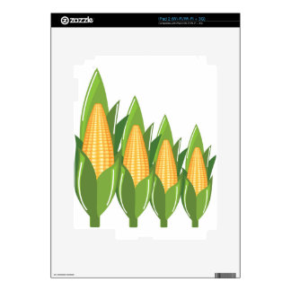 Corn Cob Decals For The iPad 2