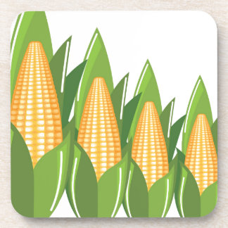 Corn Cob Drink Coaster