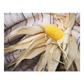 Corn cob flyer