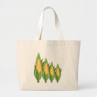 Corn Cob Large Tote Bag
