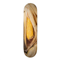 Corn Cobb On Stalk Skateboard