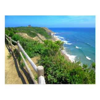 Corn Cove Cliff Path Postcard