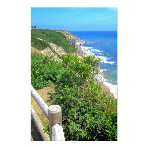 Corn Cove Cliff Path Stationery Design