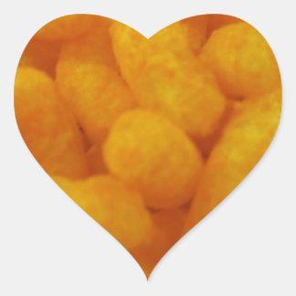 Corn Curls Heart Sticker