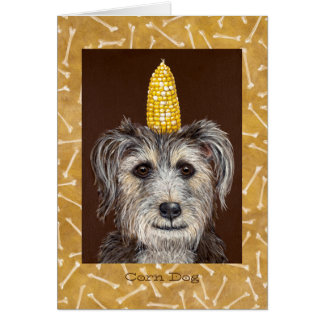 Corn Dog card