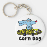 corn dog keychain