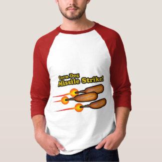 Corn Dog Missile Strike T-Shirt