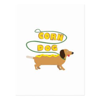 Corn Dog Postcard