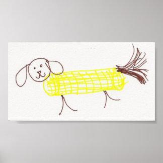 Corn Dog Poster