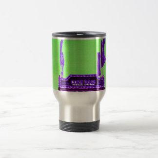 corn dog purple stand green spotty sky coffee mug