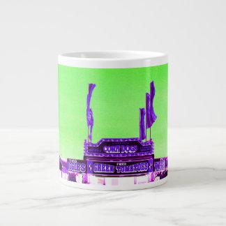 corn dog purple stand green spotty sky jumbo mug