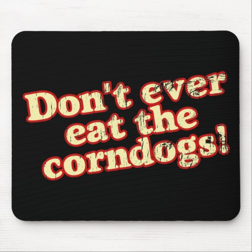 Corn Dogs Mouse Pad