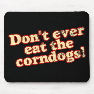 Corn Dogs Mouse Pads