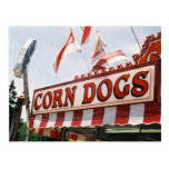 Corn Dogs Postcard